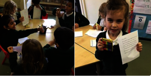 Year 1 Letters to the Crayons