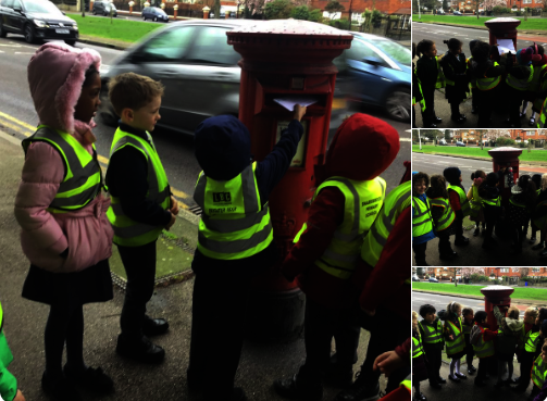 Year 1 Trip to the Post Box